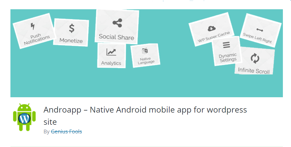 native mobile app for Android to create an application