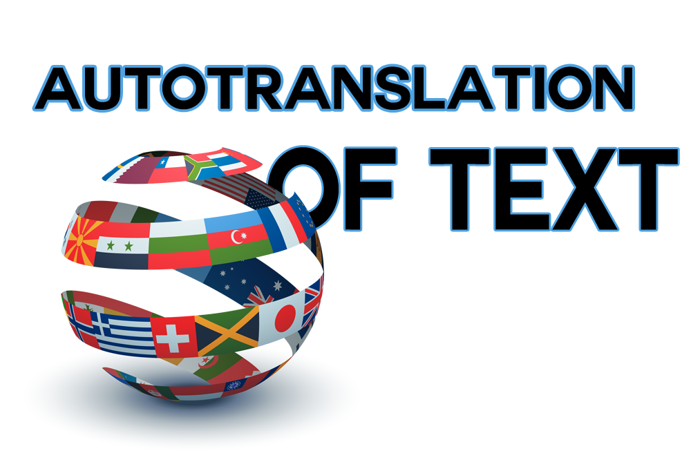Autotranslation of text