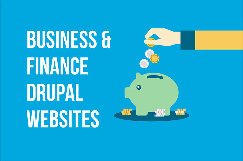 Examples of great business & finance websites built with Drupal