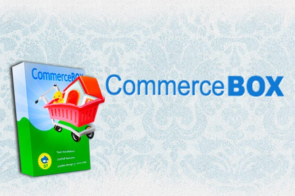 CommerceBox - free destribution online - store, based on Drupal 7 and Drupal Commerce