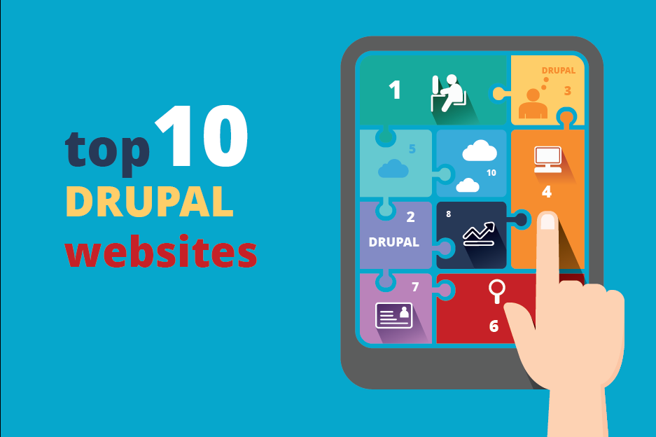10 most famous and interesting Drupal websites