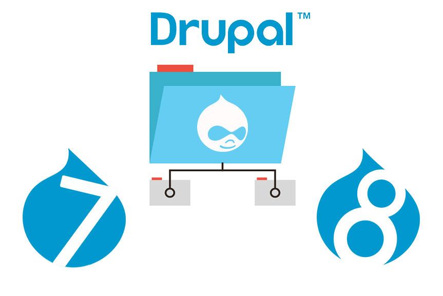 Drupal 7 і Drupal 8: презентація