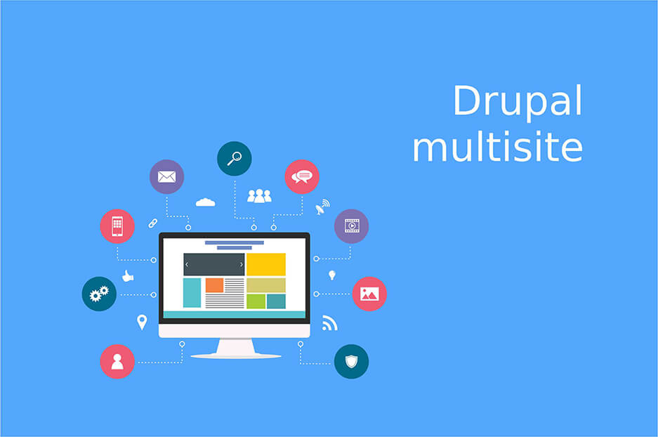More profits & less effort with Drupal multisite functionality