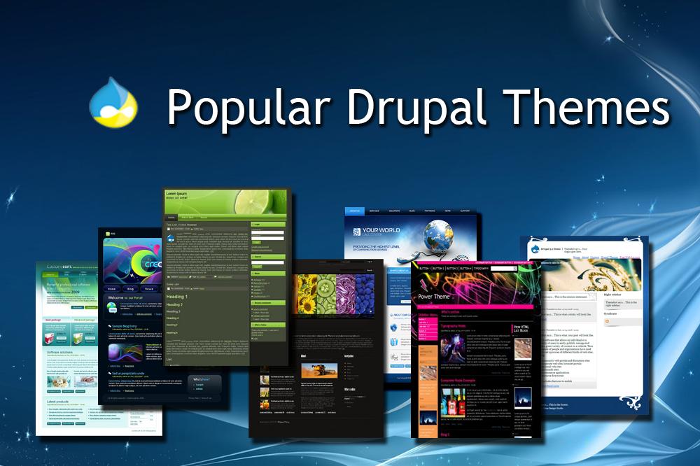 Best Free Drupal 7 Themes Internetdevels Official Blog