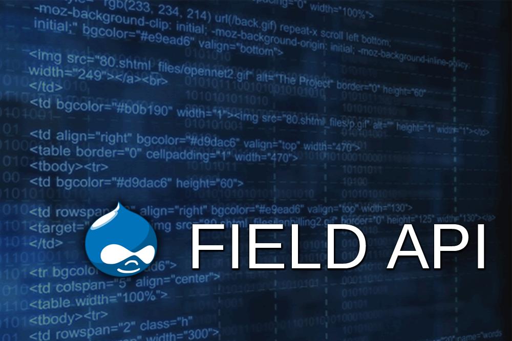 Field API D8 - Custom Formatters & Widgets