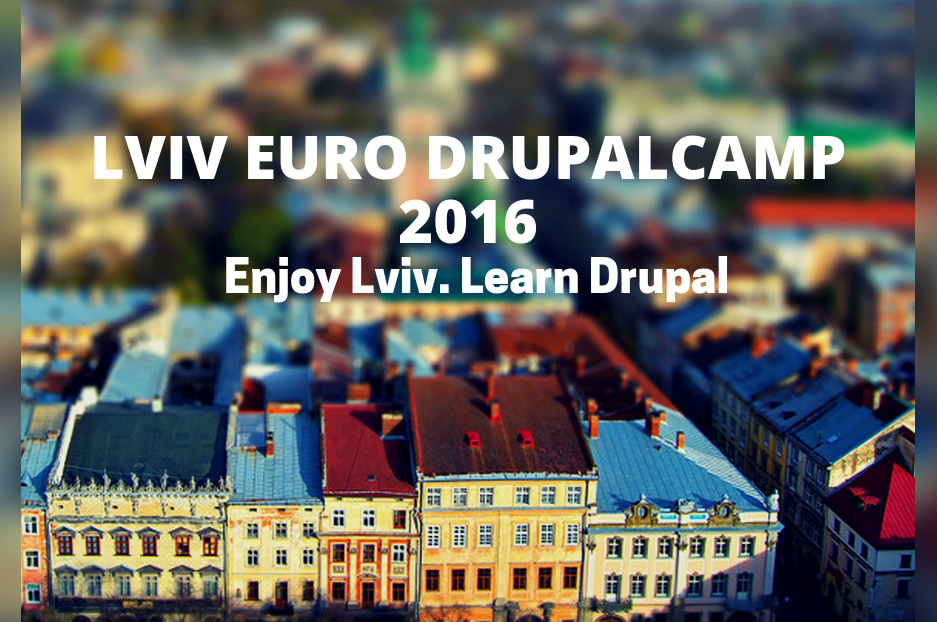 Lviv Euro DrupalCamp 2016: every drupaler's destination for September 3-4