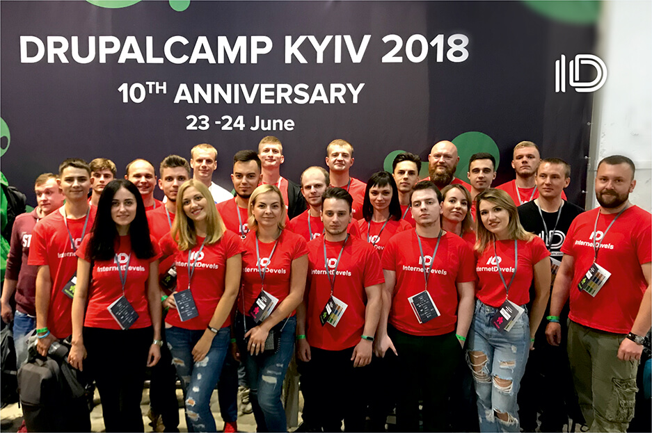 InternetDevels at DrupalCamp Kyiv 2018: how it was