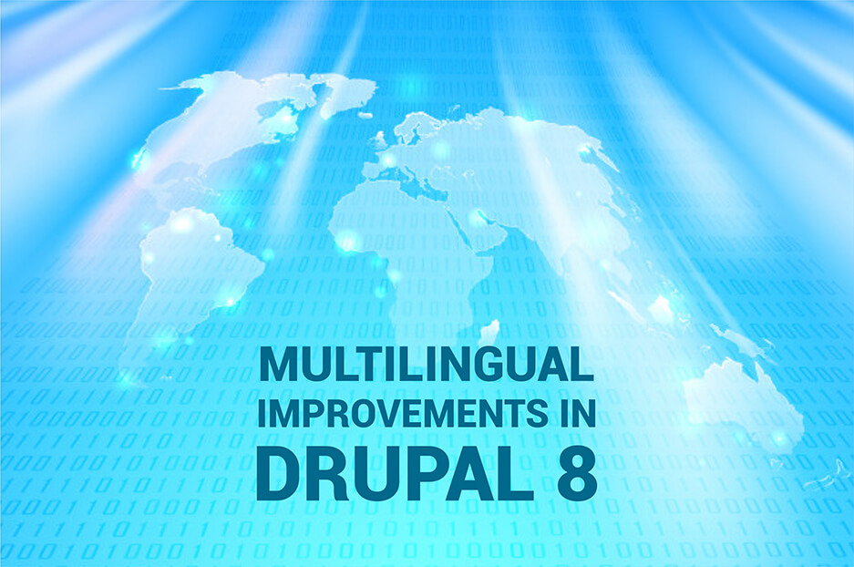 Drupal 8: multilingual from interface to content
