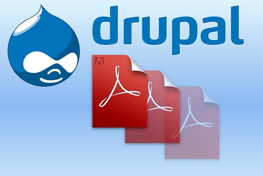 Використання PDF на Drupal-сайті