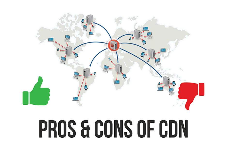 Pros and cons of CDN