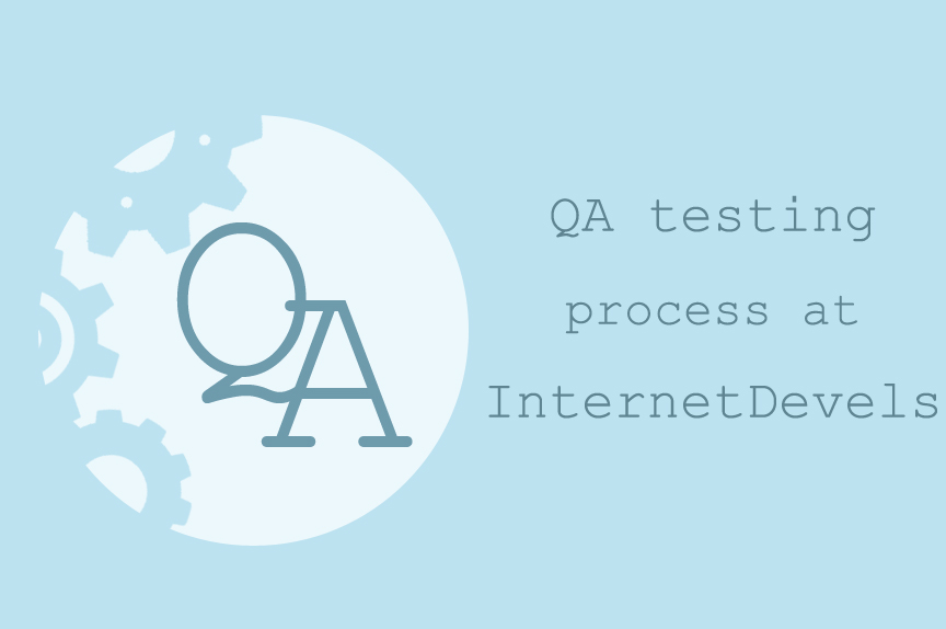 A glimpse at website testing process: how we do it