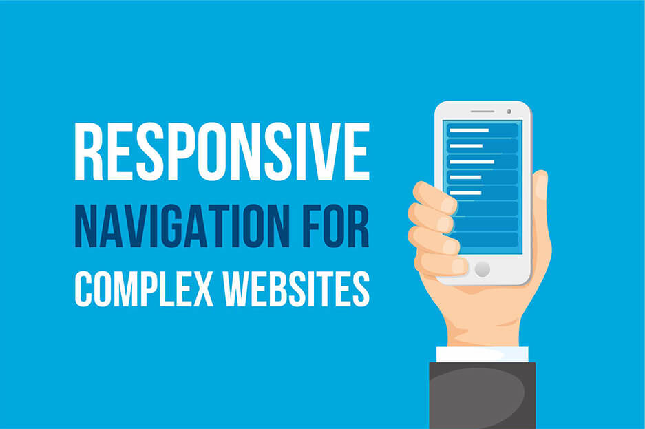 Responsive navigation ideas for complex websites