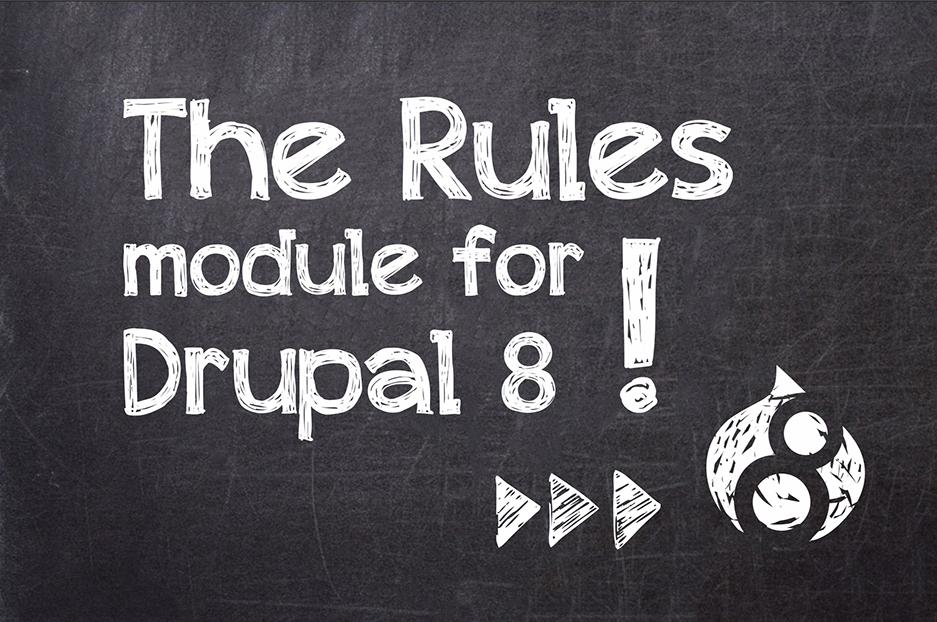 D8 Модуль: Rules