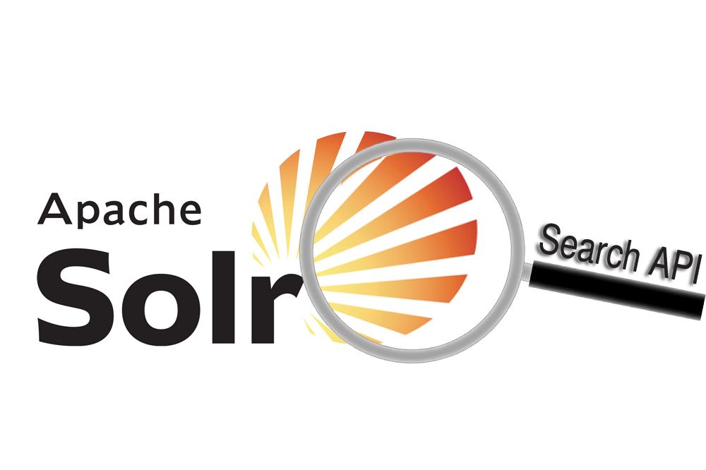 Search API. Apache Solr operating