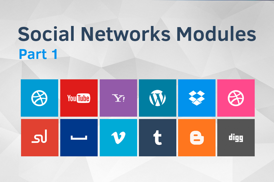 Drupal Social Media Integration Modules Internetdevels Official Blog