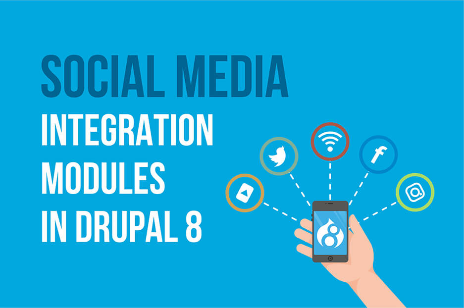 17 social media integration modules for Drupal 8