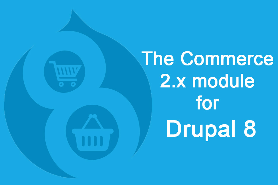 Drupal 8: overview of the Commerce 2.x module for online stores