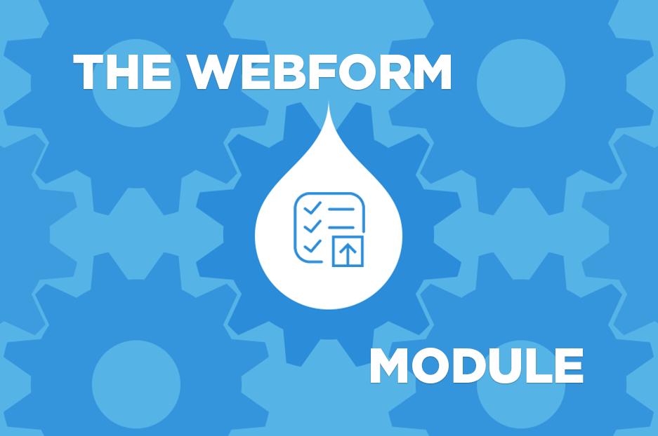 Модуль Webform у Drupal 8 набирає обертів