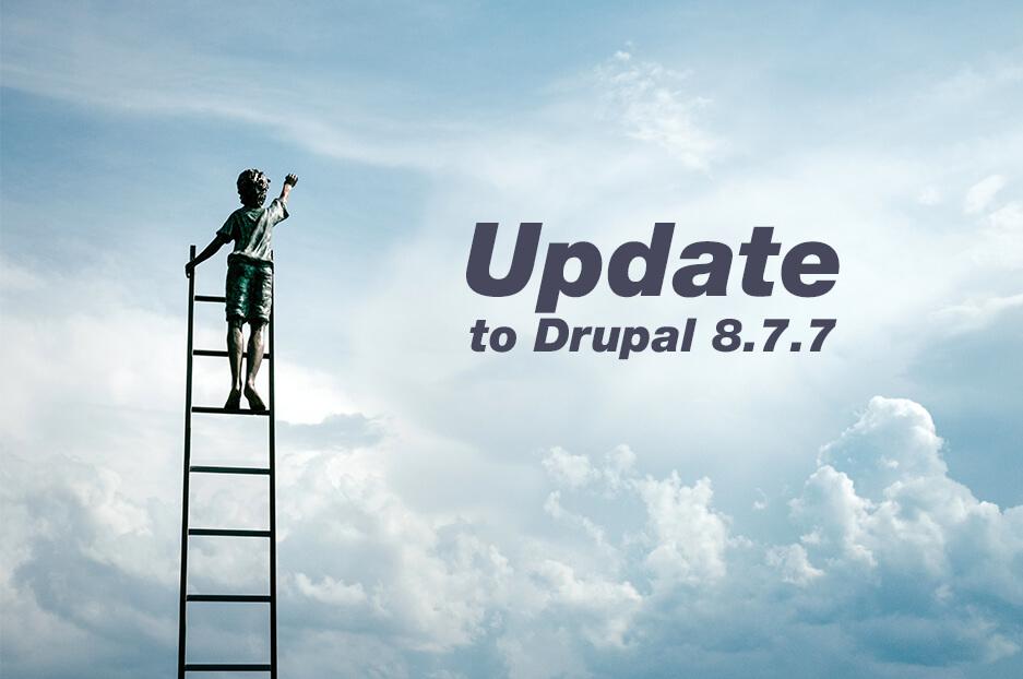 Чому варто оновитись до Drupal 8.7.7: маленький реліз із великим секретом!