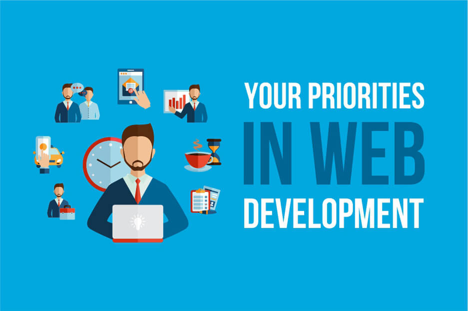 Website development according to any priorities: everything is possible!