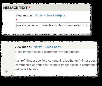 Message Stack Drupal module