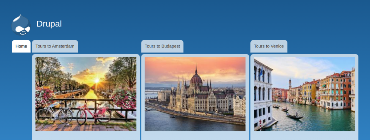 Navigation link with images thanks to the Menu Item Extras Drupal module