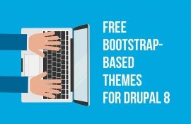A collection of free Bootstrap-based themes for Drupal 8