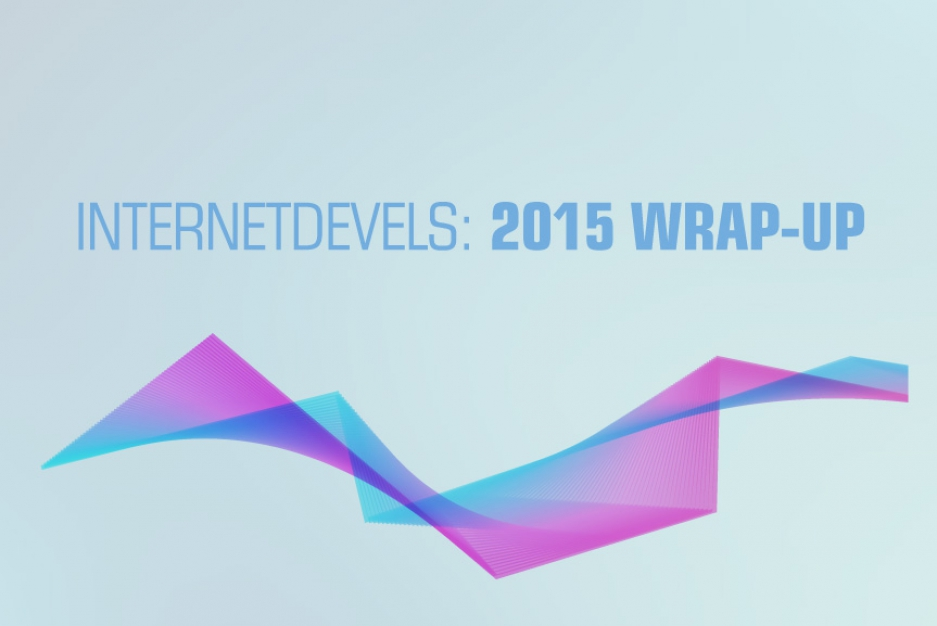 InternetDevels: 2015 wrap-up — infographics