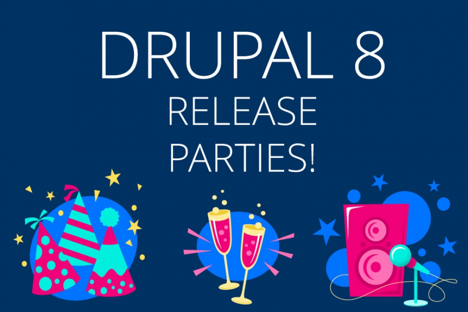 Drupal 8 release: great parties are on the way!