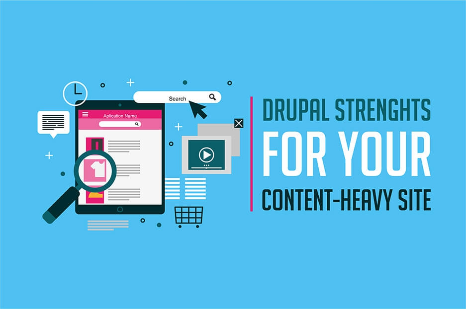 Why Drupal should power your content-heavy website