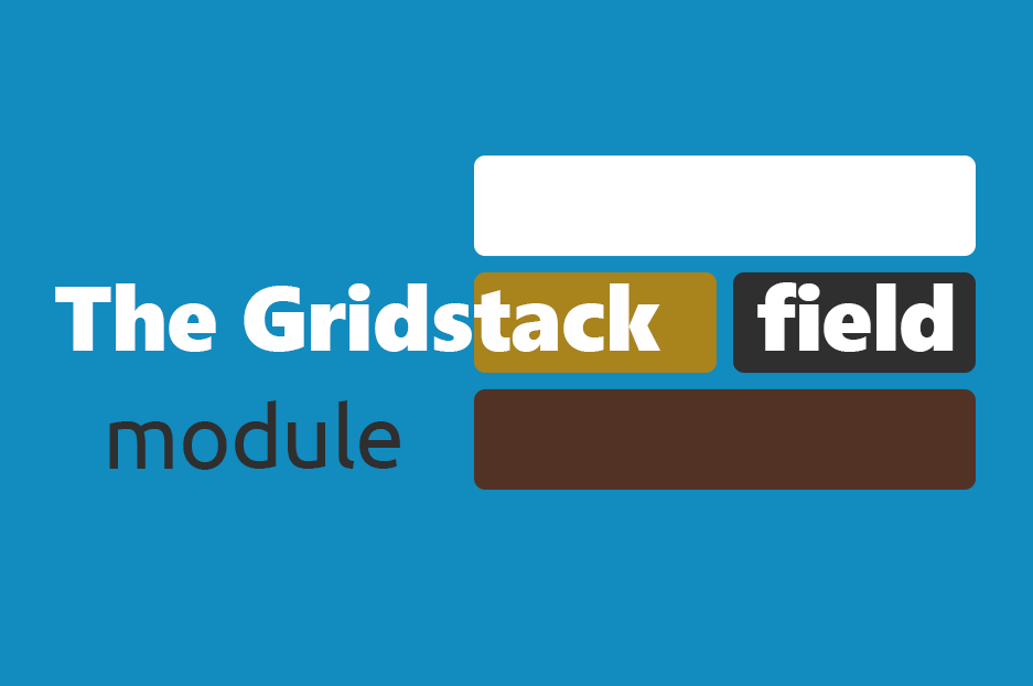 The Gridstack field Drupal module by InternetDevels developers