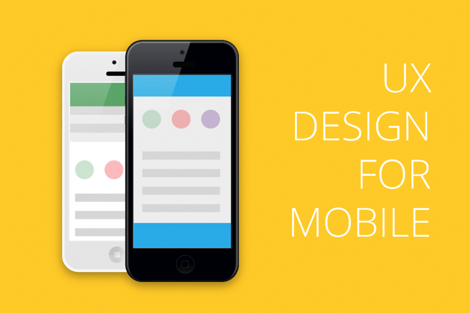 UX Design for Mobile — Infographics