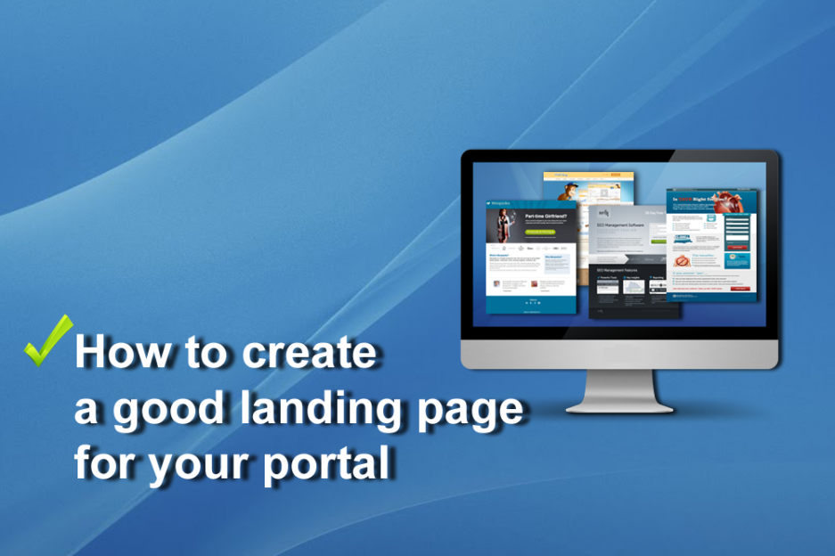 Successful landing page. Theory and practice