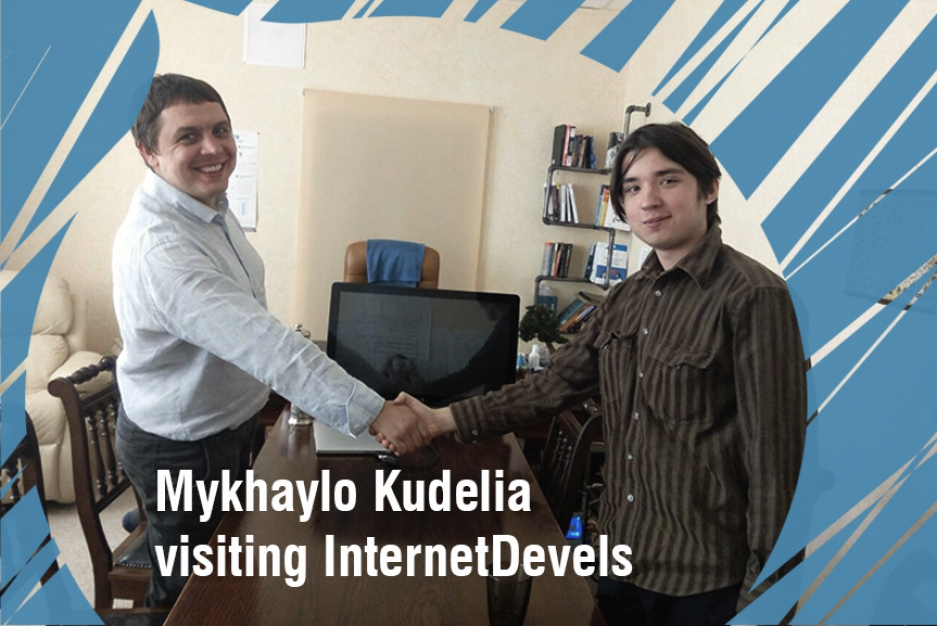 Mykhaylo Kudelia: everyone can succeed, you just need to go and do it!