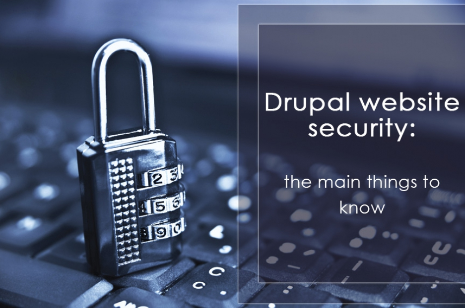 Drupal website security: the main things to know