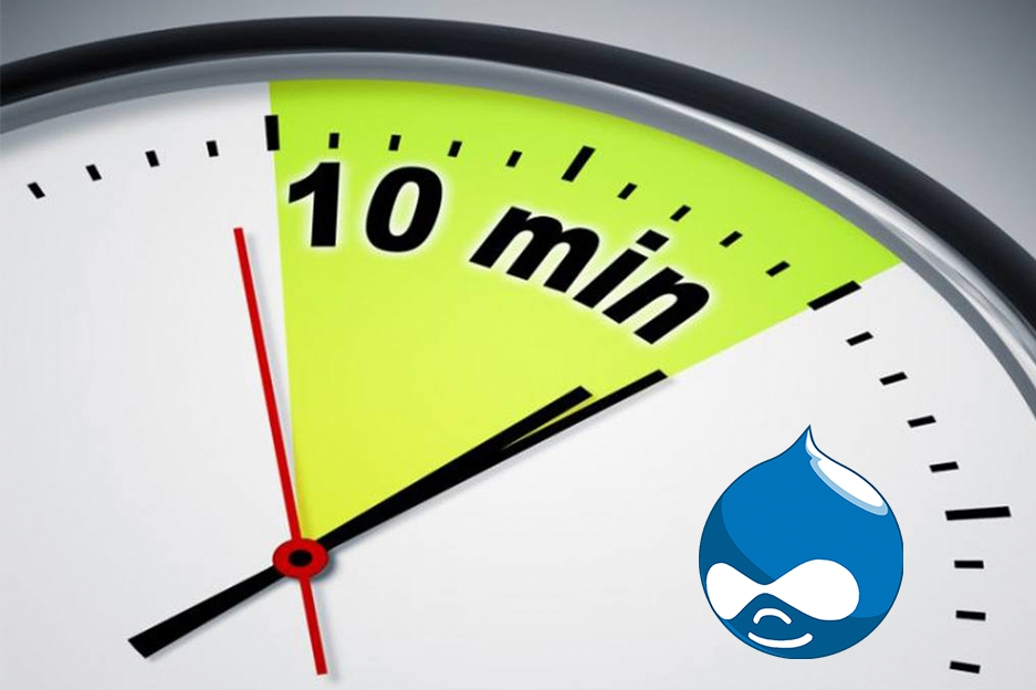 Install Drupal base package in 10 minutes with our new script!