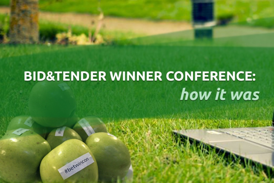 BetWinCon: how we held our conference for bid & tender winners